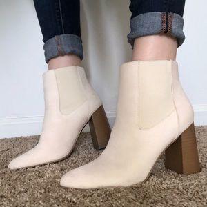 Shoes - Cream Booties